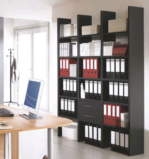 Contemporary Bookcase For Offices Wooden Easy Office