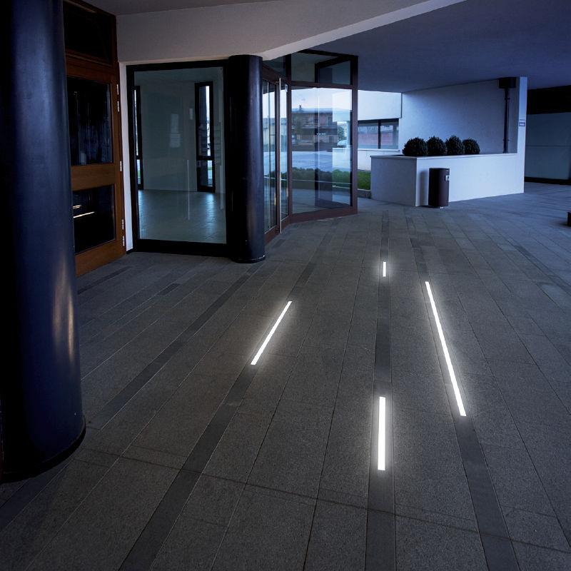 recessed floor lighting. Recessed Floor Light Fixture / LED Linear PMMA - DAVIS Lighting S