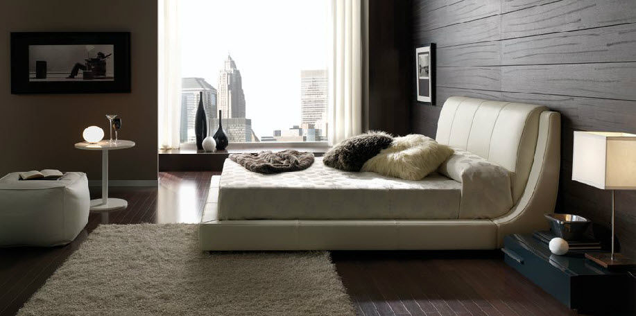 Exceptional Double Bed / Contemporary / With Headboard / Upholstered. DUBAI Gamamobel