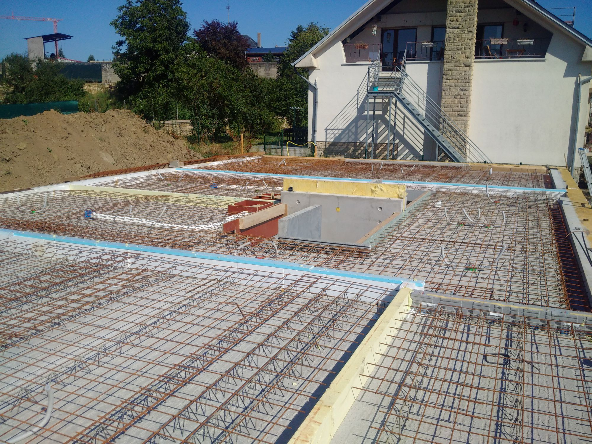 Elegant ... Concrete Pre Slab / Reinforced / With Integrated Piping Option ...
