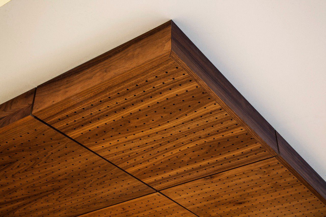 Wooden Suspended Ceiling Panel Acoustic True Usg