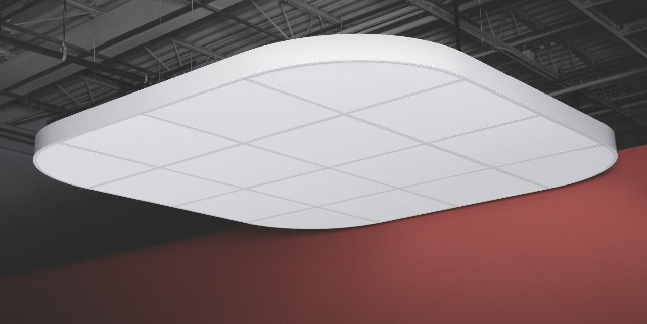 Ceiling Acoustic Panel Metal Smooth Commercial Compositions
