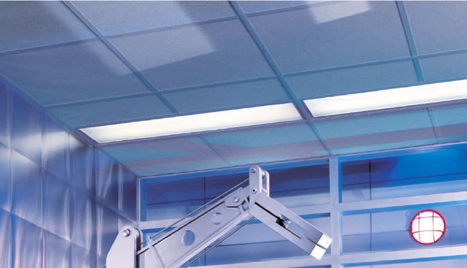 mineral fiber suspended ceiling tile acoustic for clean rooms rh archiexpo com