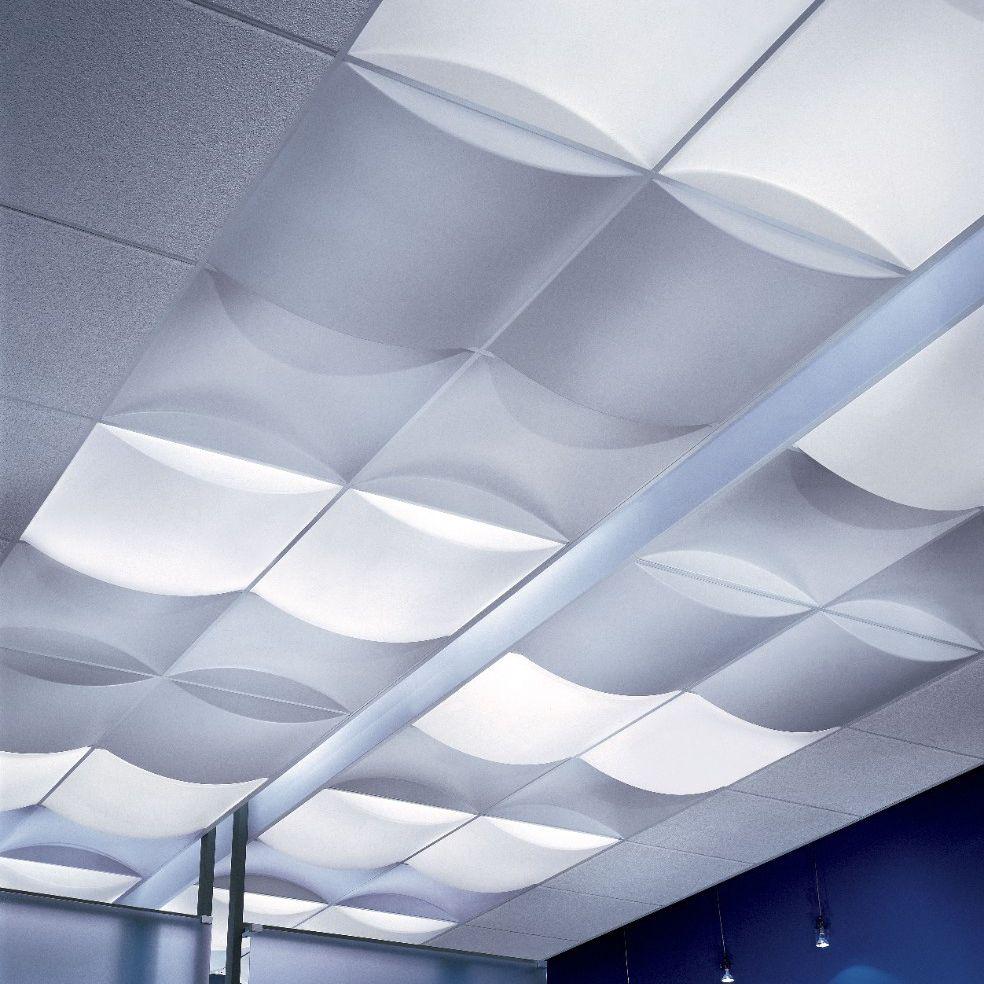 Polycarbonate suspended ceiling / panel / acoustic / decorative ...