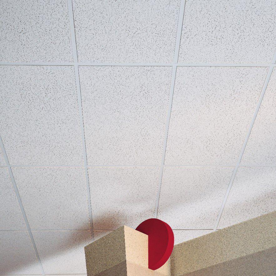 Fiberglass Suspended Ceiling Panel Acoustic Plateau