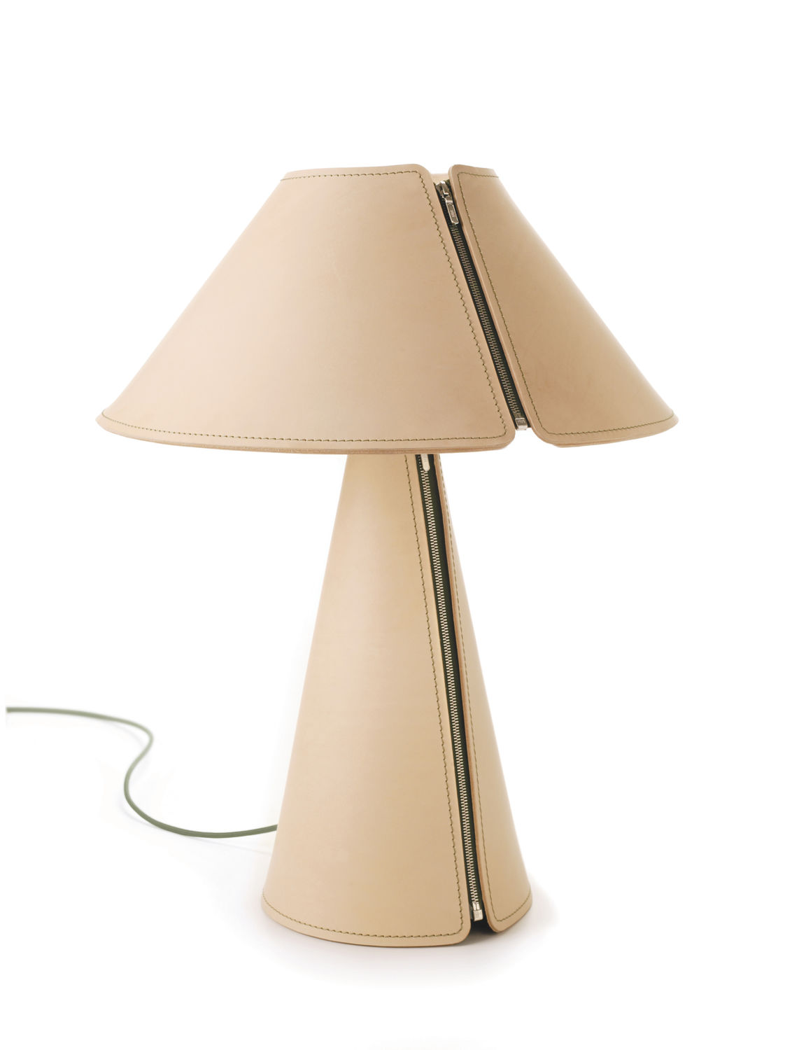 Table lamp / contemporary / leather / dimmable - EL SENOR by ...
