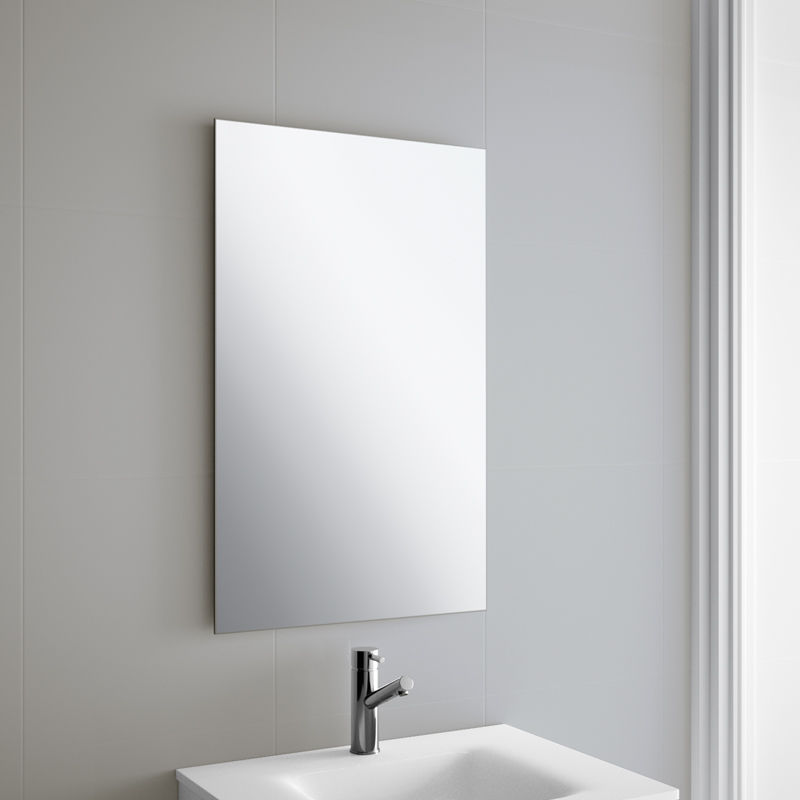 Wall Mounted Mirror wall-mounted mirror / contemporary / rectangular / bathroom - sena
