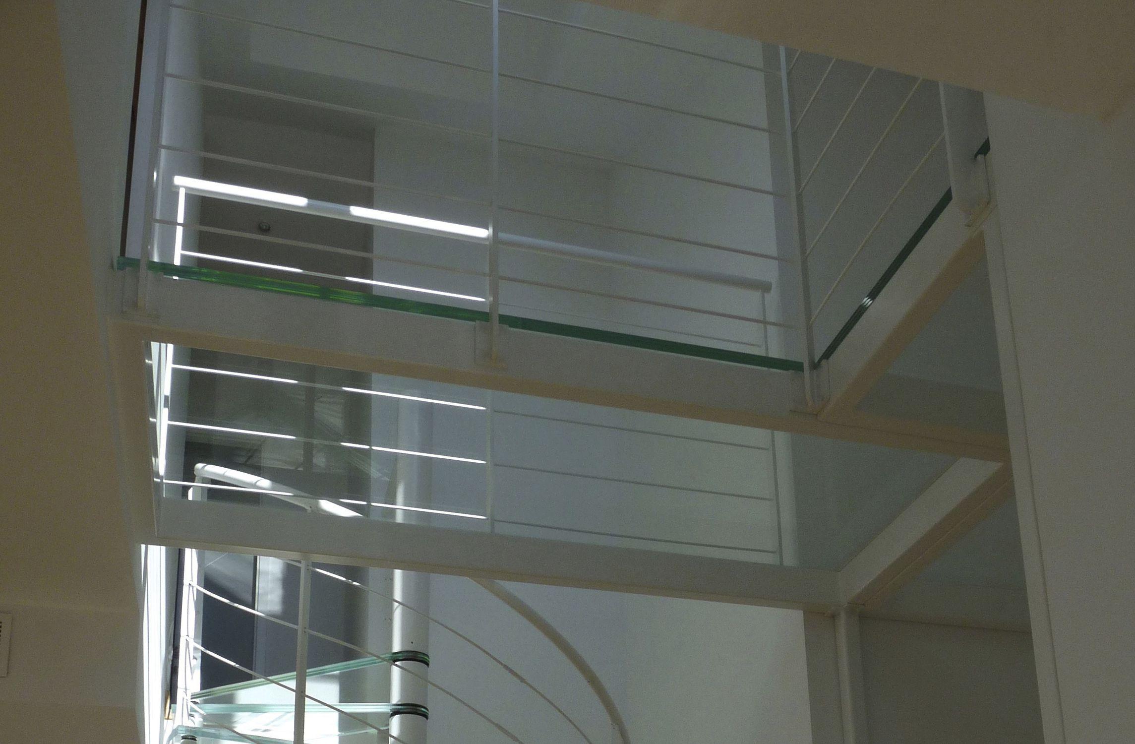 Beam walkway / steel / glass / pedestrian - PASSERELLE VERRE EXTRA ...