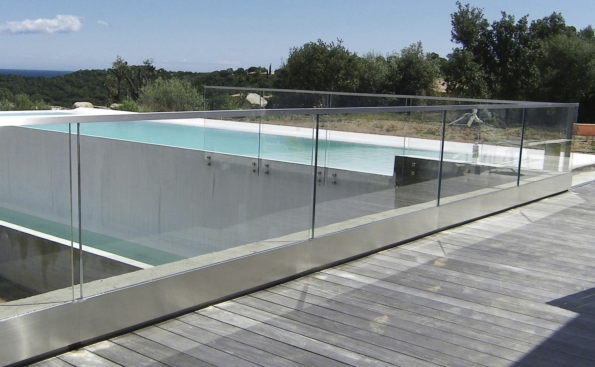 Glass railings for decks - Glass Railing Glass Panel Outdoor For Balconies Raily