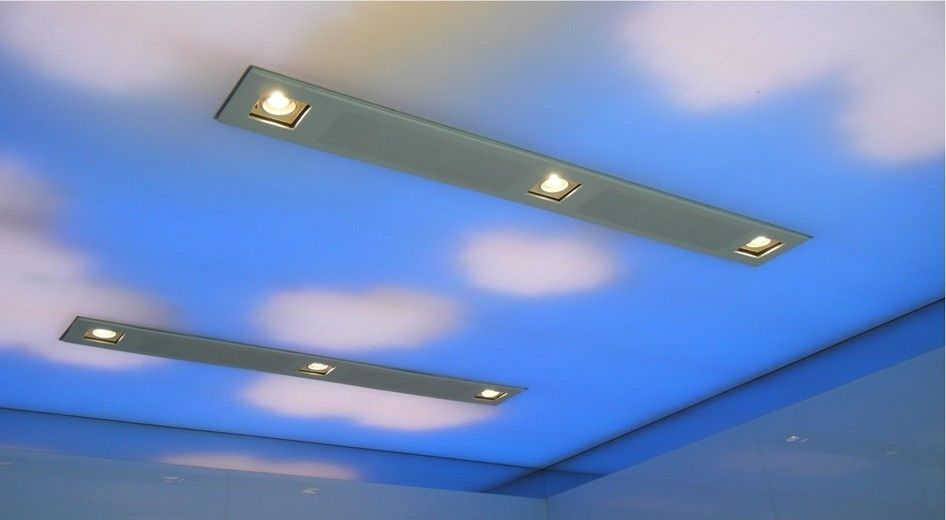 ... Canvas stretch ceiling / decorative / printed IMAGE PRINTING - VINYL Stretch  Ceilings ... - Canvas Stretch Ceiling / Decorative / Printed - IMAGE PRINTING