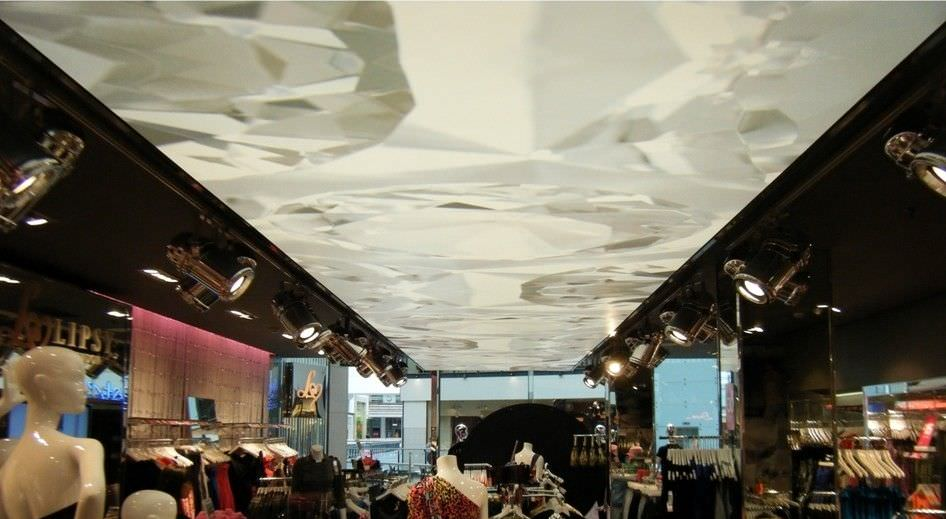 ... Canvas stretch ceiling / decorative / printed IMAGE PRINTING - VINYL Stretch  Ceilings - Canvas Stretch Ceiling / Decorative / Printed - IMAGE PRINTING
