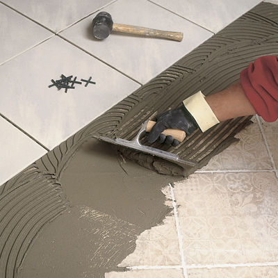 Fixing Adhesive Mortar For Tiles For Flooring Screed Extra 30