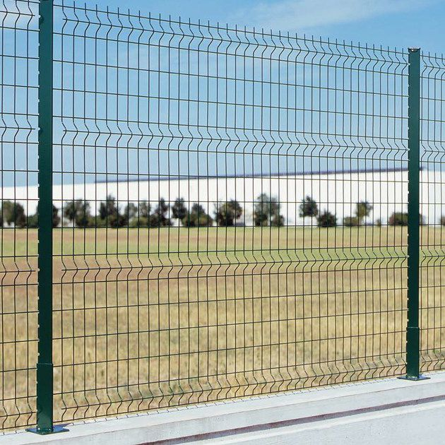 Electro-welded steel metal mesh / for fencing / elongated mesh ...