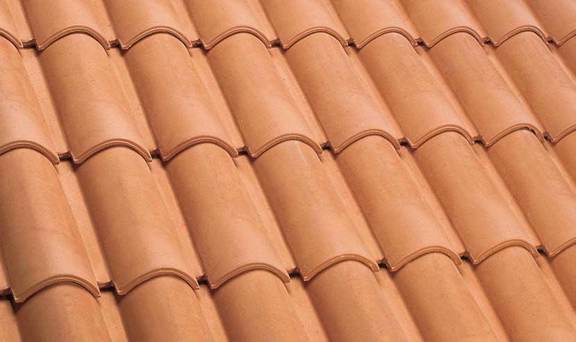 Roman Roof Tile / Clay   FRANCIGENA   NATURALE