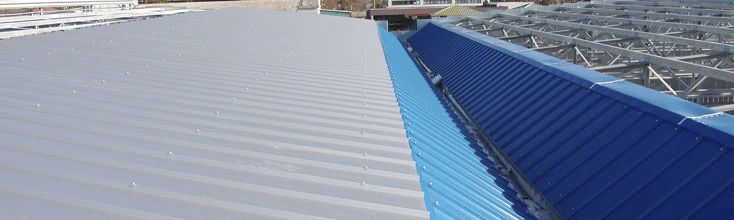 Galvanized Steel Roofing Panel / Polyurethane / Insulating   DELTA 3