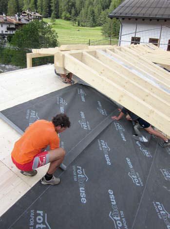 Polypropylene Vapor Barrier / For Roofs   VAPOR 150