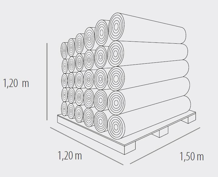 ... Polypropylene Vapor Barrier / For Roofs VAPOR 150 ROTHO BLAAS
