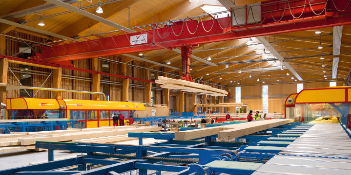Pool design holz  Wooden roof framing / glulam / prefab - Theurl Holz