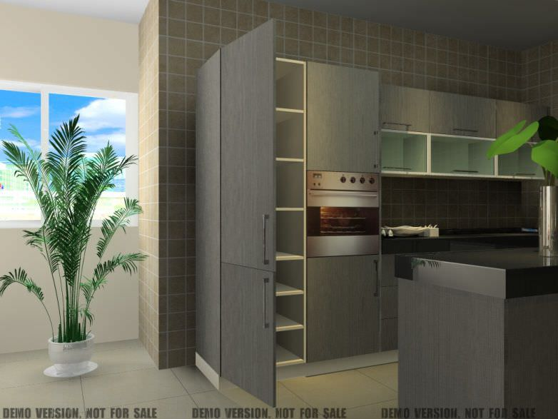 Interior Design Software CAD For Kitchens KD MAX YUAN FANG