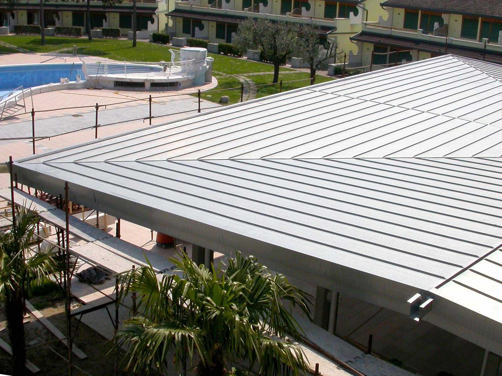 Awesome ... Copper Roofing Sheet / Zinc Titanium / Nesting ZINTEK ...