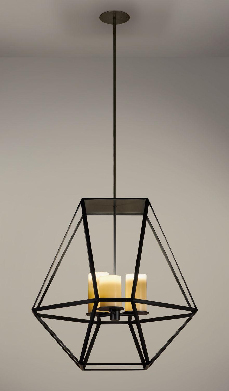 Pendant lamp contemporary metal handmade gem kevin reilly pendant lamp contemporary metal handmade gem mozeypictures Gallery