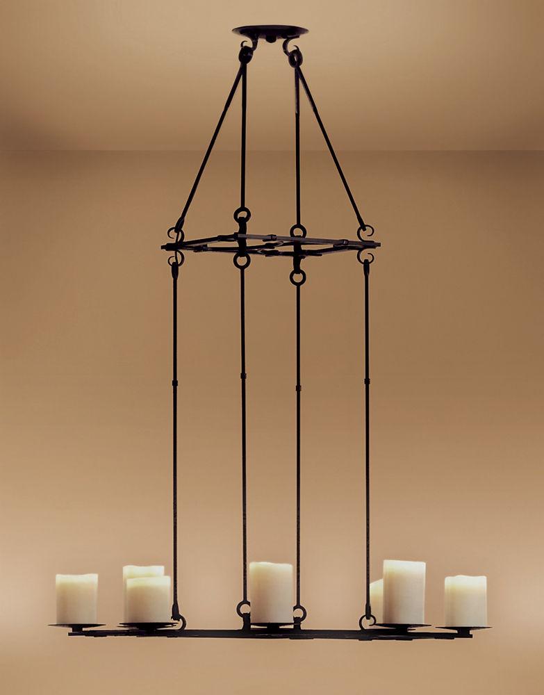 Traditional chandelier / metal / incandescent / handmade - BRIDLE ...