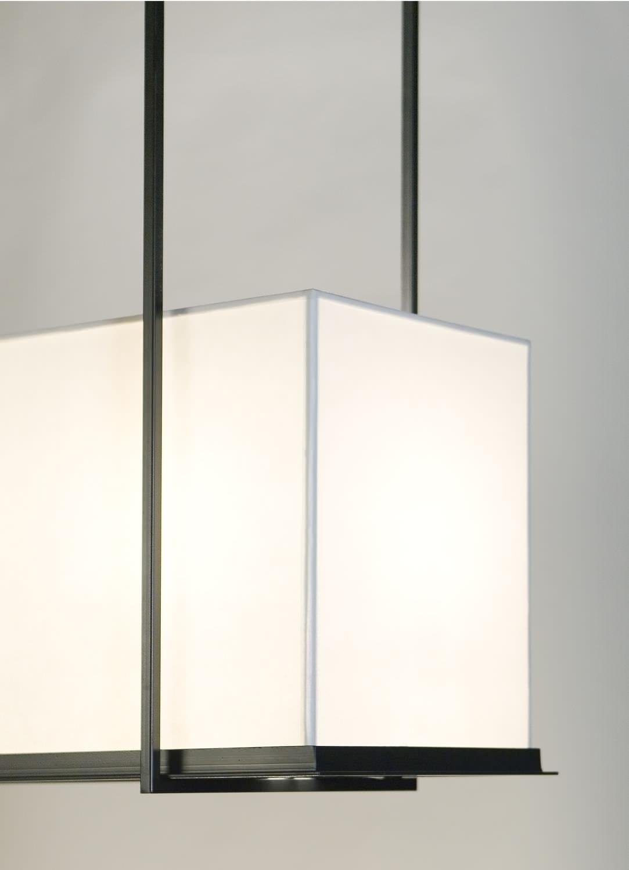 contemporary ceiling lighting. Contemporary Ceiling Light / Rectangular Steel LED Lighting O