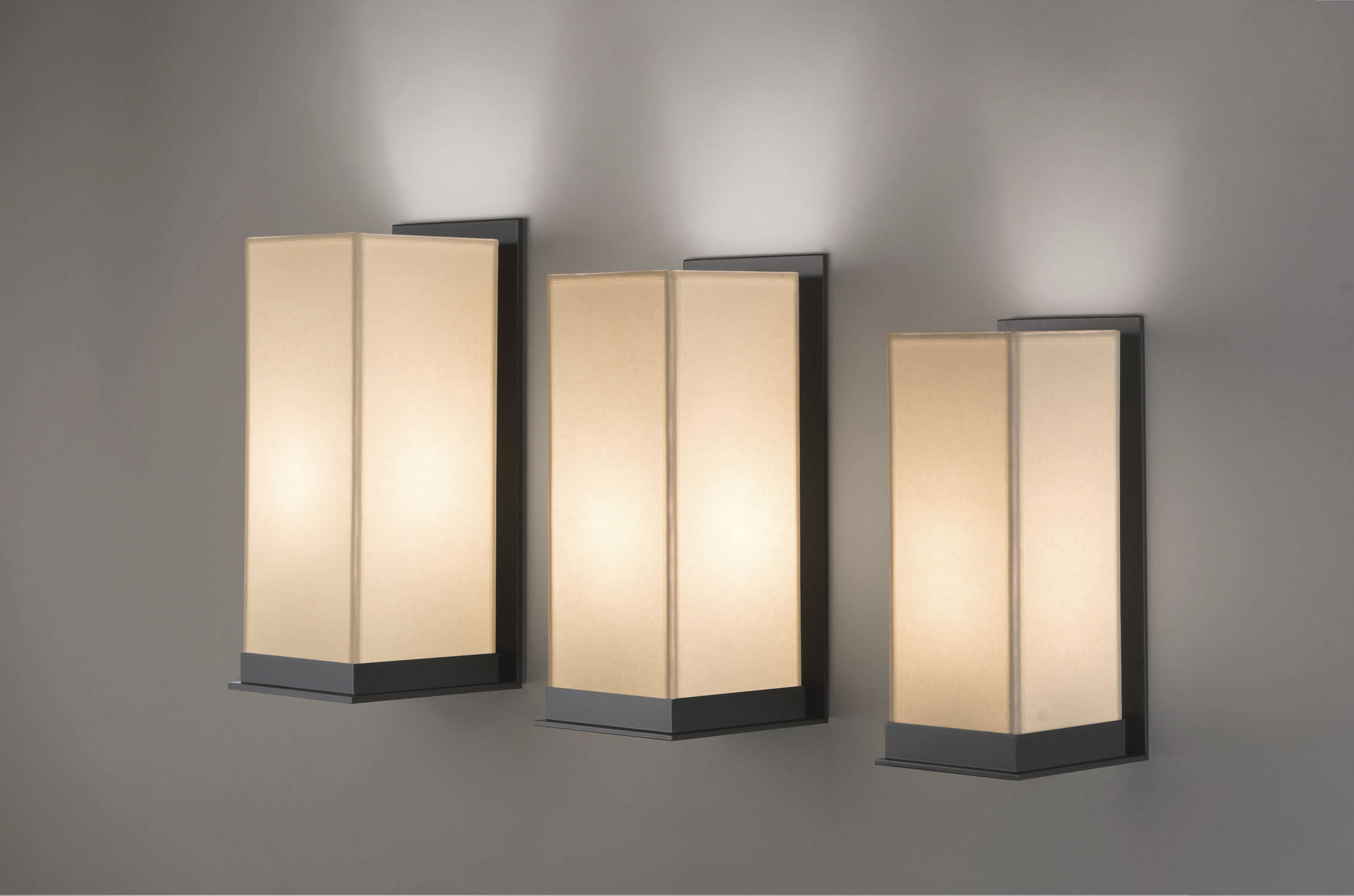 Contemporary wall light / metal / rectangular KORT Kevin Reilly Collection : kevin reilly lighting - azcodes.com