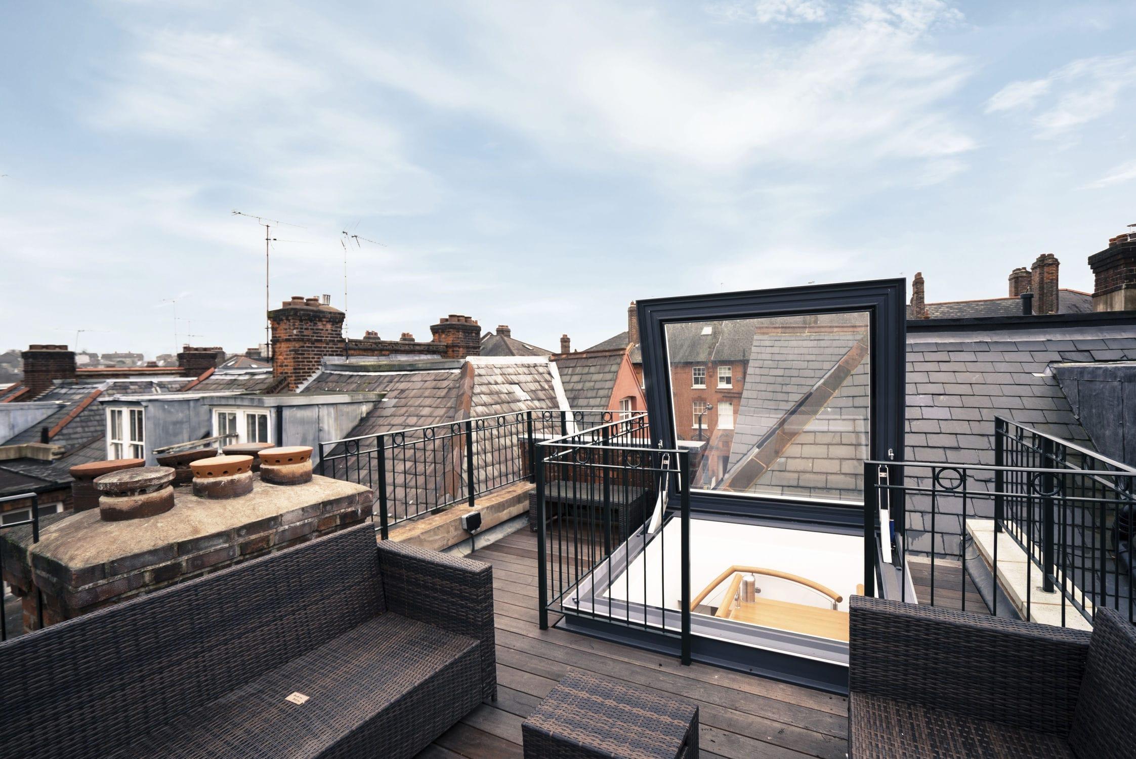 Rooftop Access Hatch / Square / Rectangular / Aluminum. GV SKYDOOR  (electric) Glazing Vision
