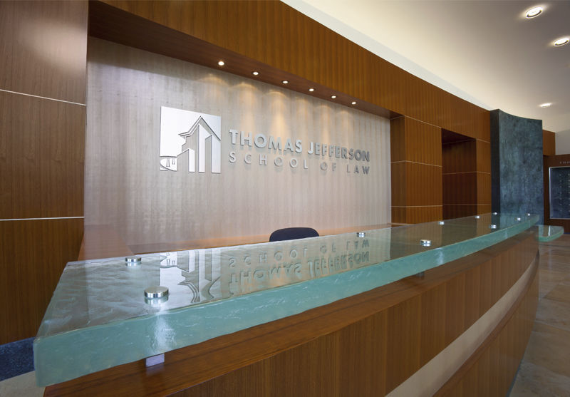 Glass Reception Desk Semicircular For Bars