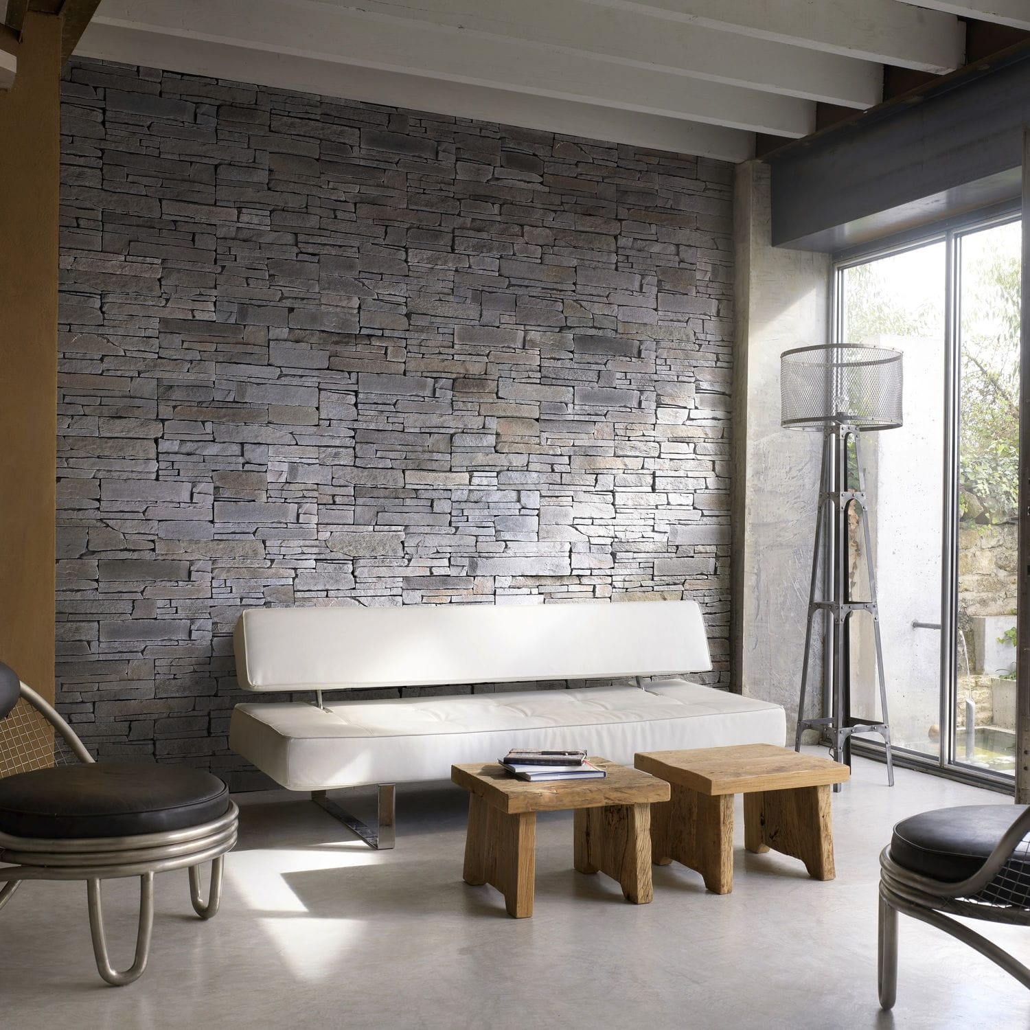 on wall room ideas interior interiors house design white stone and brick