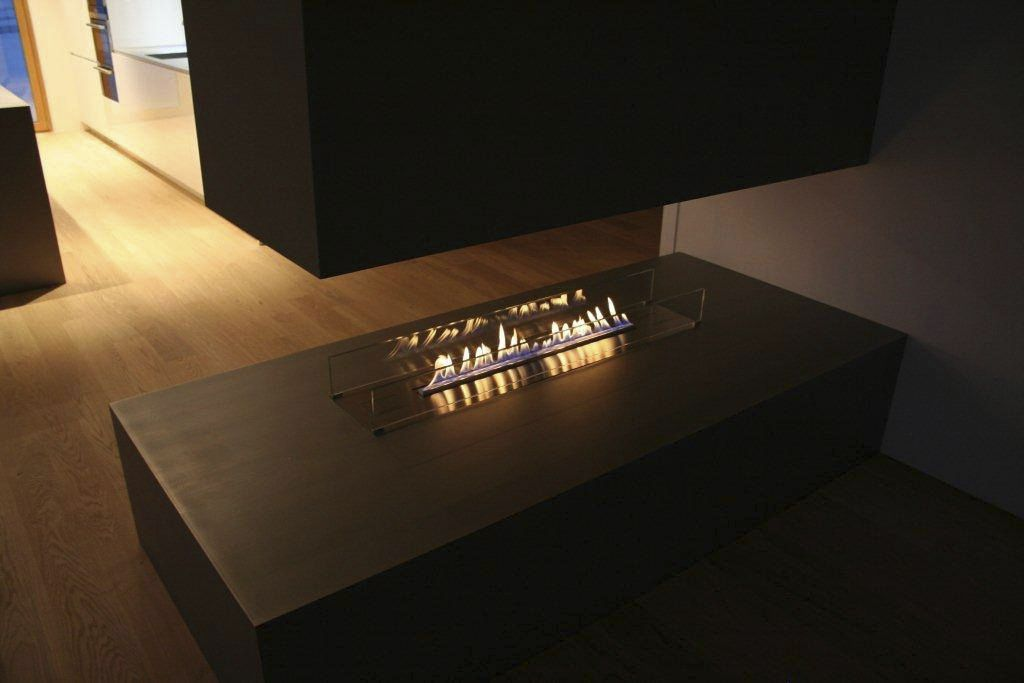 Fireplace Design fireplaces denver : Bioethanol fireplace / contemporary / open hearth / double-sided ...