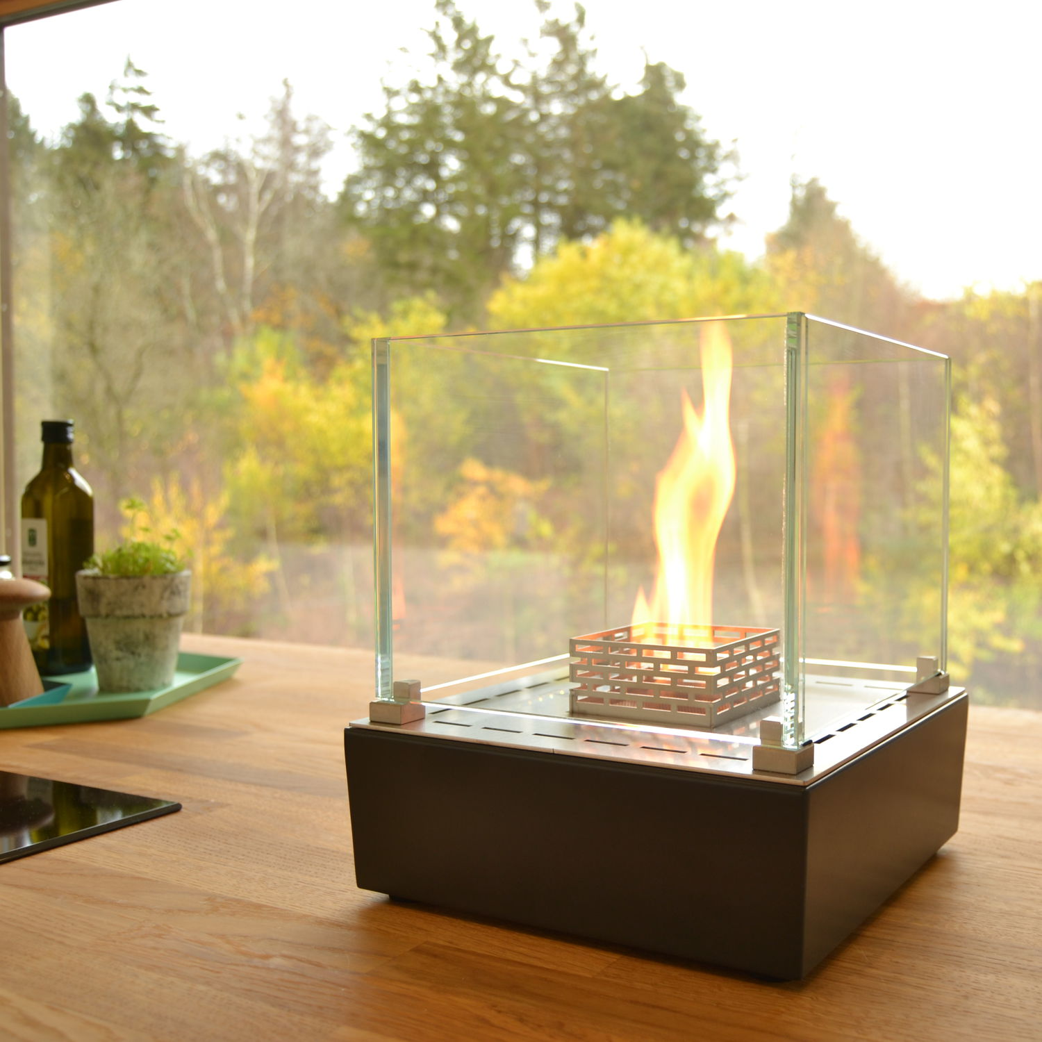 bioethanol fireplace contemporary open hearth central nice