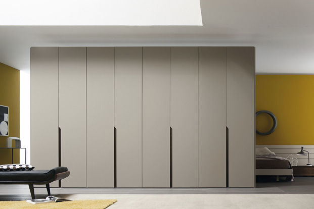 Contemporary wardrobewoodenwith swing doorsMULTIPLOLe