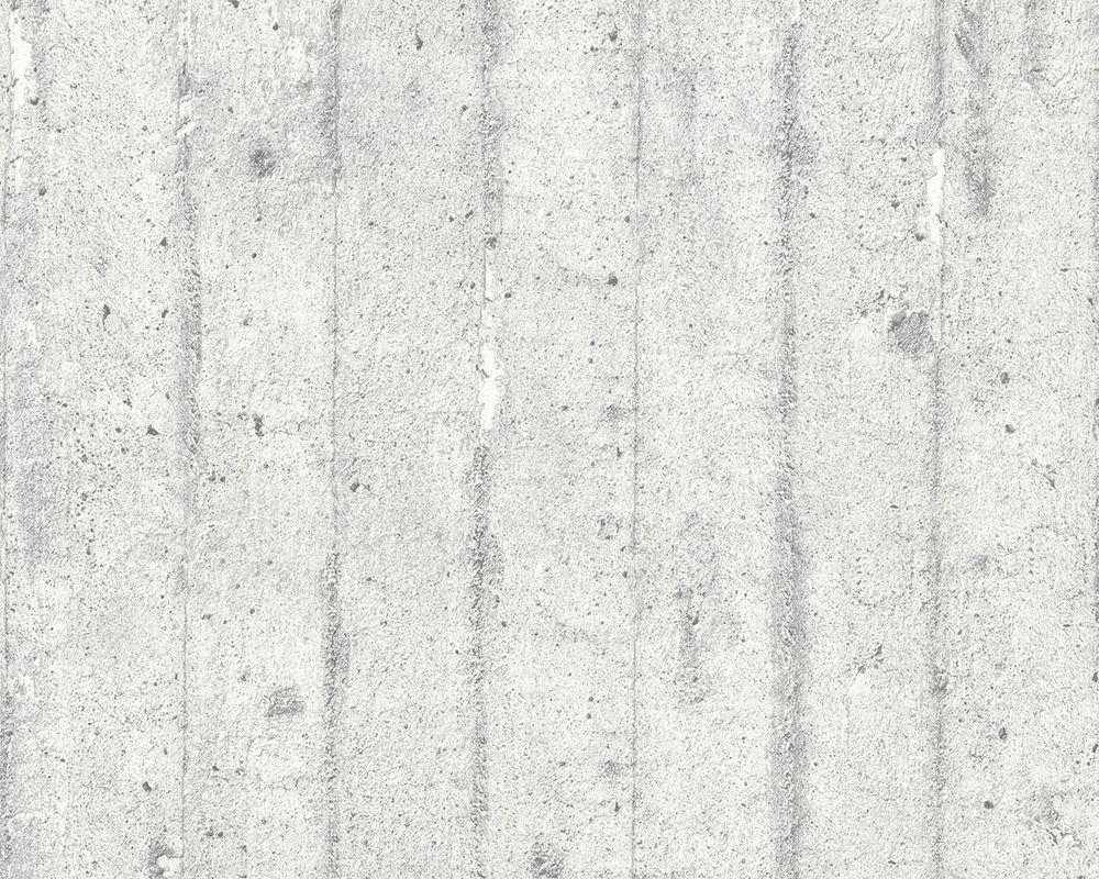 classic wallpaper / vintage / vinyl / plain - ap beton: tapeten ... - Modern Tapeten