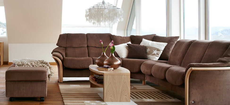 ... Traditional Sofa / Leather / 5 Person / Reclining