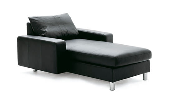 Contemporary Daybed Leather Fabric Indoor E200 Ekornes