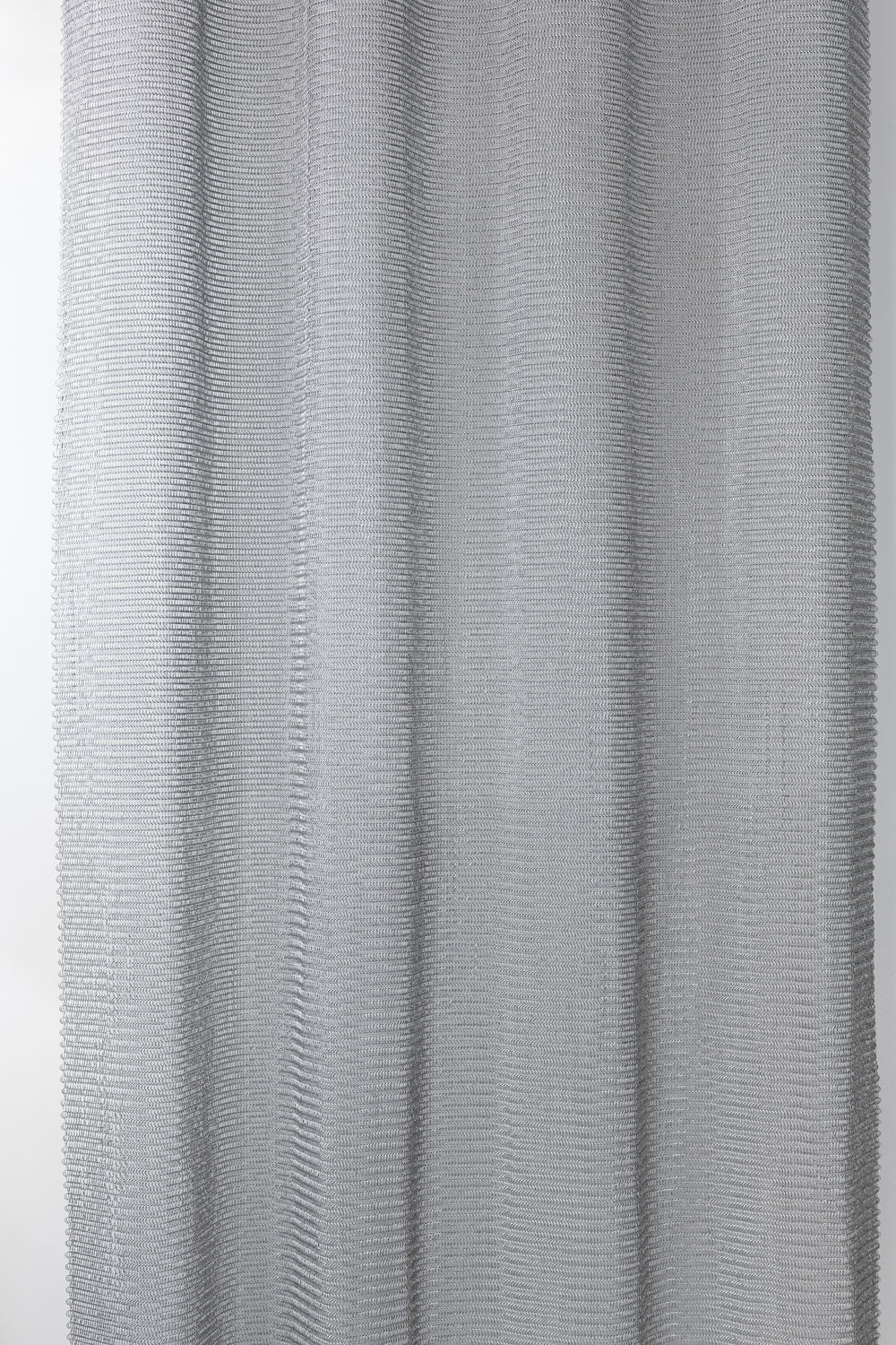 Geometric Curtain Pleated Stainless Steel Chainmail Le Labo