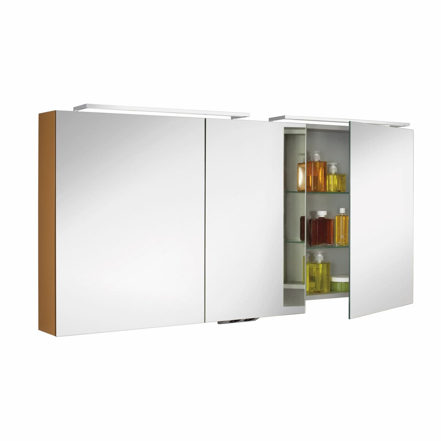 Bathroom wall cabinet with mirror - Mirrored Bathroom Wall Cabinet Glossy Box