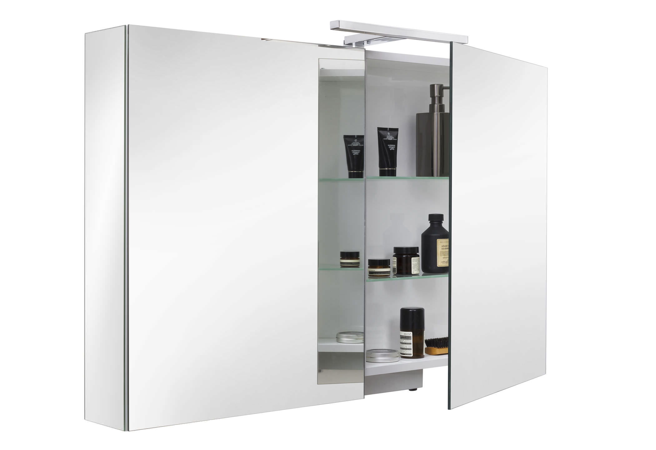 bathroom box  mirrored bathroom wall cabinet ice box sanijura