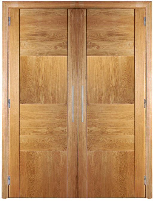 Closet Door / Swing / Oak / Double Leaf   DAMIER