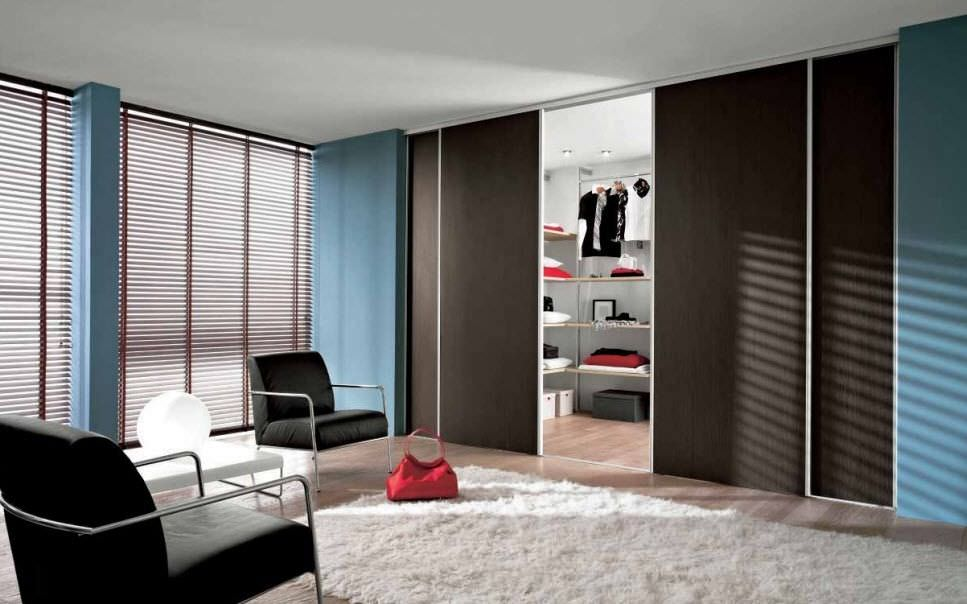 Indoor door / closet / for walk-in closet / sliding - 116 A