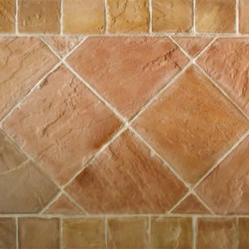 Indoor Tile Floor Sandstone Metallized Redstone Marbrerie