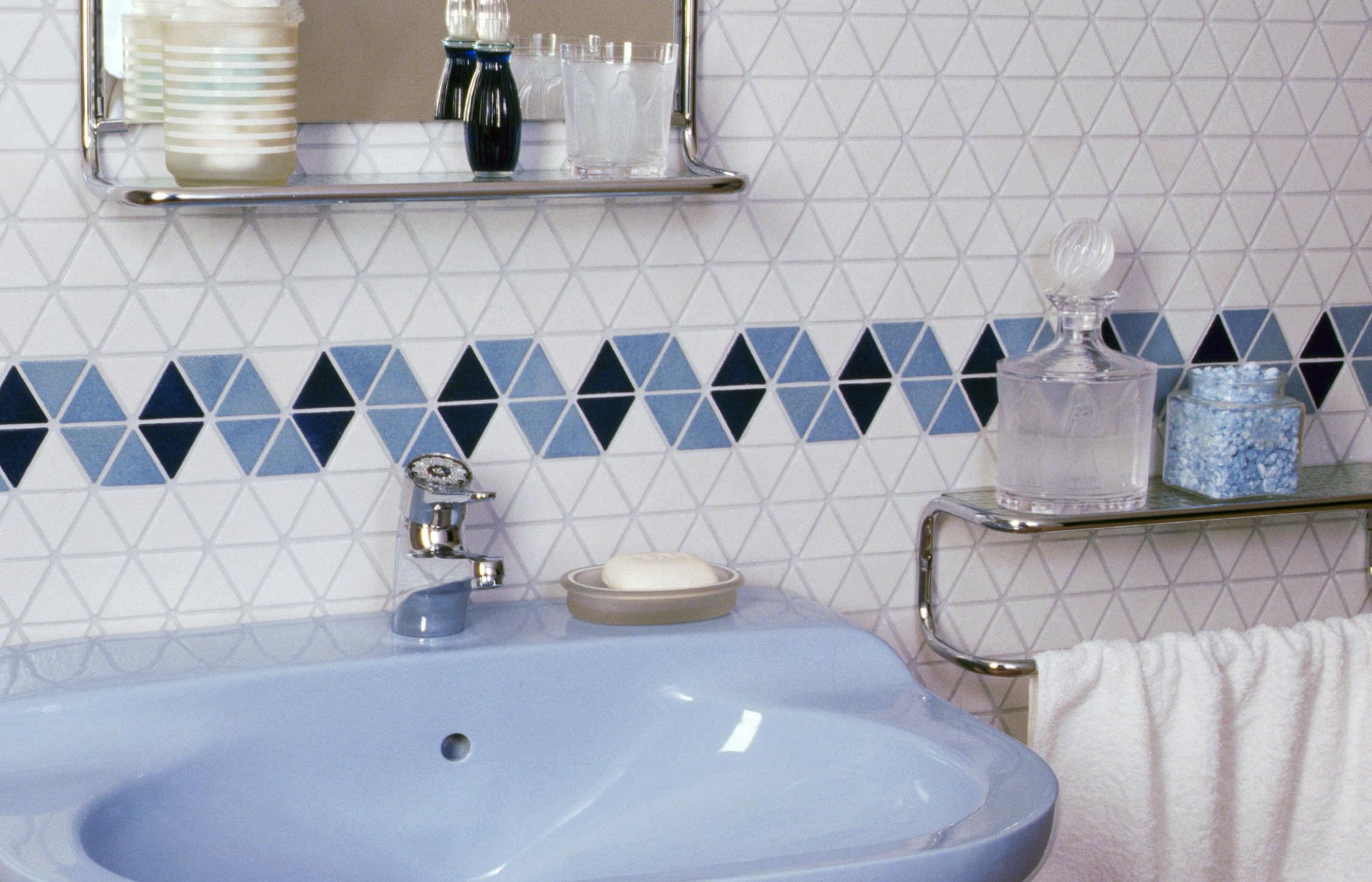 Indoor mosaic tile / bathroom / wall / ceramic - TRIO - EMAUX DE BRIARE