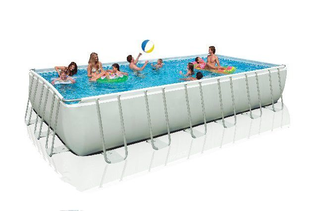 Above Ground Swimming Pool Polyester Tubular Outdoor