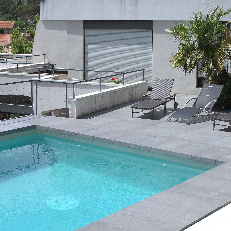 Concrete swimming pool coping - RENO - ROUVIERE