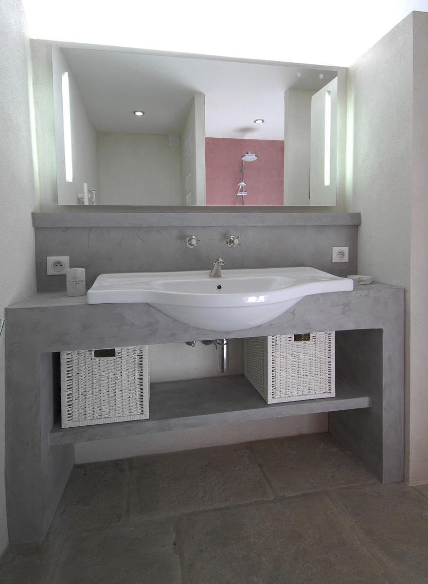 Double vasque noir salle de bain: meuble salle de bain jina ...