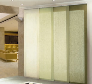 house translucent curtain ice panel pin blind white voile