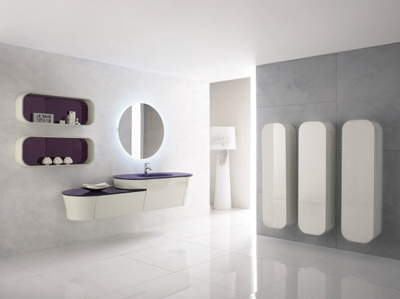 Contemporary bathroom / ceramic - CALYPSO 01 - BMT Bagni