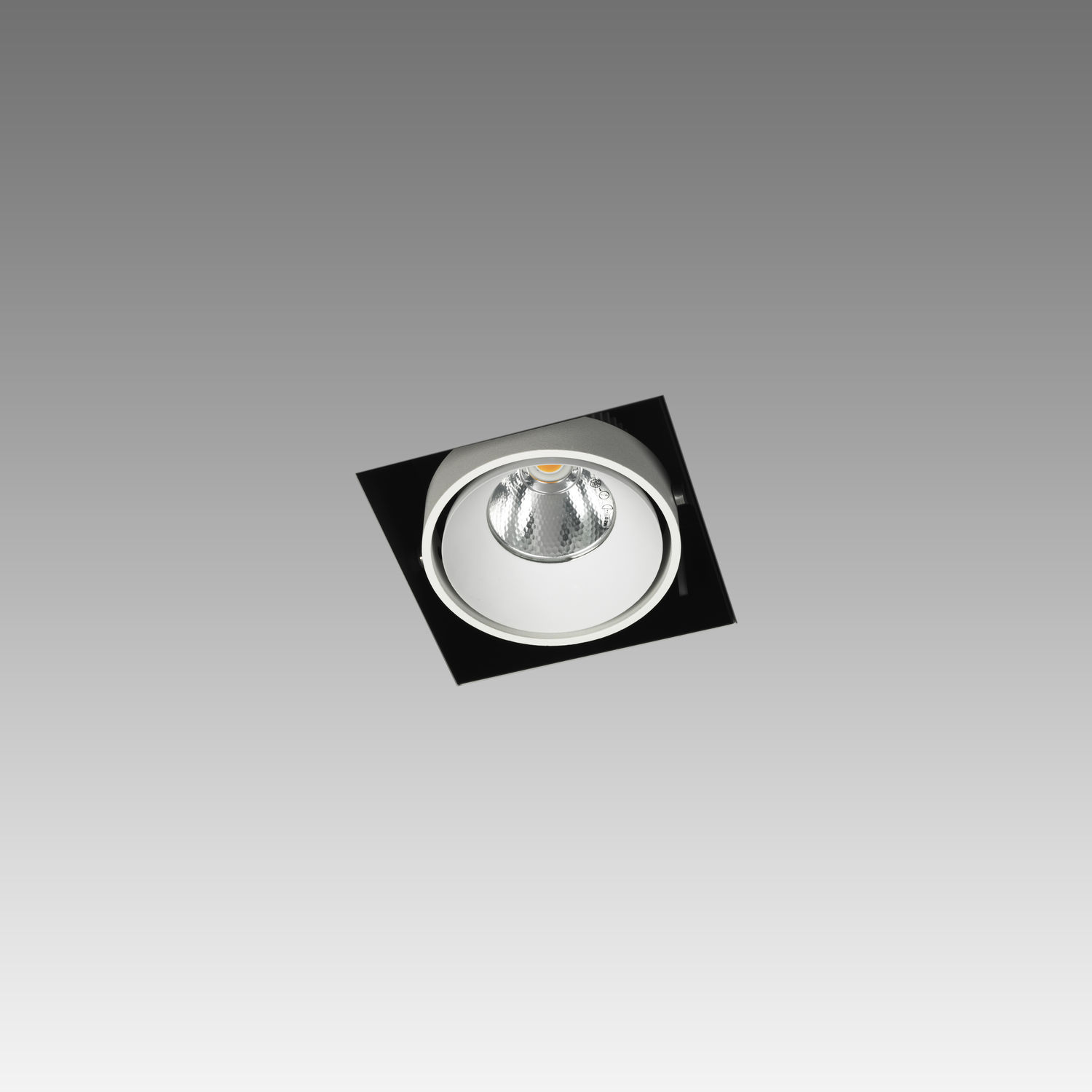 Recessed ceiling spotlight / indoor / LED / square - NO FRAME ... for Ceiling Double Spot Light  557yll